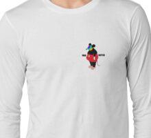 Psychedelic Fat Rat Long Sleeve T-Shirt