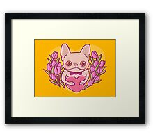 Happy Mother's Day, Frenchie Mama Framed Print