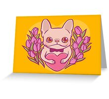 Happy Mother's Day, Frenchie Mama Greeting Card