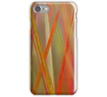 Abstract Flax Plant iPhone Case/Skin