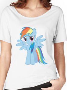 Rainbow Dash Blush Women's Relaxed Fit T-Shirt