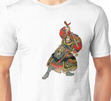 Samurai Draws His Sword Unisex T-Shirt