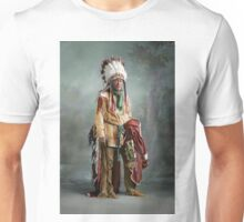 Colorized American Indian Chief Porcupine circa 1900 Unisex T-Shirt