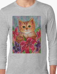 Tiger Puff Long Sleeve T-Shirt