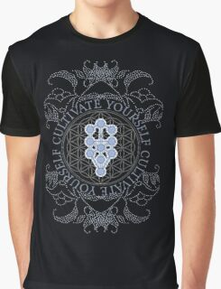 Cultivate Yourself Kabbalah Tree of Life Graphic T-Shirt