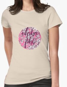 Alpha Phi Womens Fitted T-Shirt