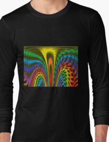 Flourishing Rainbow Long Sleeve T-Shirt