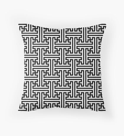 Sayagata Version 1 Throw Pillow