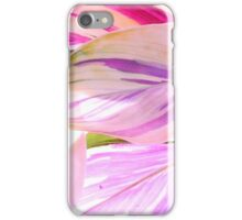 Pink and Lilac Painted Leaves iPhone Case/Skin