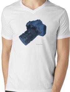 300D Mens V-Neck T-Shirt
