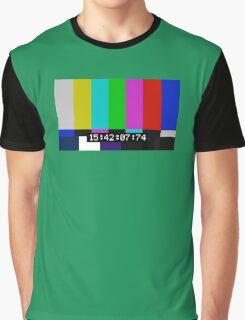 SMPTE color bars Graphic T-Shirt