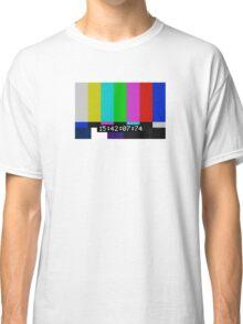 SMPTE color bars Classic T-Shirt