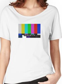 SMPTE color bars Women's Relaxed Fit T-Shirt