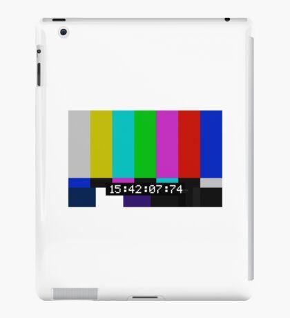 SMPTE color bars iPad Case/Skin