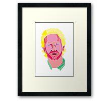 Chris Martin Framed Print