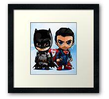 LIL HEROES Framed Print