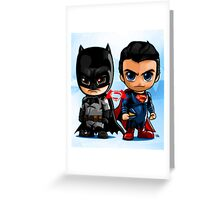 LIL HEROES Greeting Card