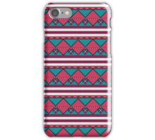 Aztec seamless pattern vintage old background iPhone Case/Skin