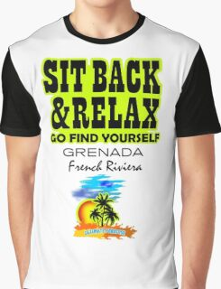 Sit Back And Relax In Grenada, French Riviera Graphic T-Shirt