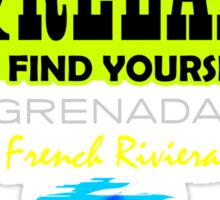 Sit Back And Relax In Grenada Sticker