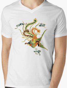 Asian Art Chinese Phoenix Mens V-Neck T-Shirt