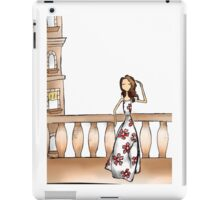 Gazing Girl I Know iPad Case/Skin