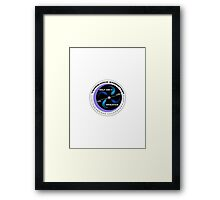 Wolf 1061c Mission Patch Framed Print
