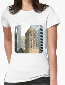 Hobart Building  Womens Fitted T-Shirt
