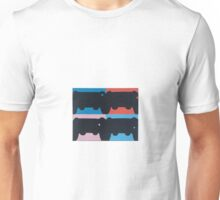 PS4 in Negative Space Unisex T-Shirt