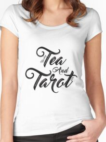 Tuesday Tea and Tarot 2016 Women's Fitted Scoop T-Shirt