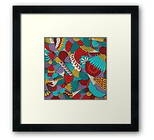 Scales and Ripples Framed Print
