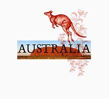 Australia Ayers Rock & Kangaroo Long Sleeve T-Shirt