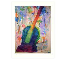 Dreams of Music in Color Art Print