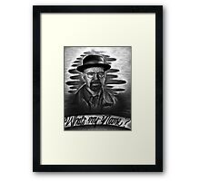 What's my Name? Framed Print