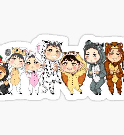 Exo-Animal Crossing Sticker
