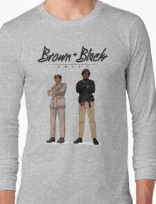 Brown + Black Unity Long Sleeve T-Shirt