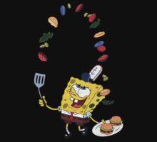 Spongebob and Krabby Patties One Piece - Short Sleeve