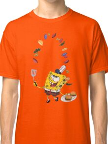 Spongebob and Krabby Patties Classic T-Shirt