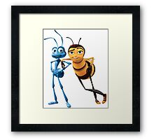 Bee Movie X A Bug's Life Framed Print