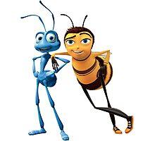 Bee Movie X A Bug's Life Photographic Print