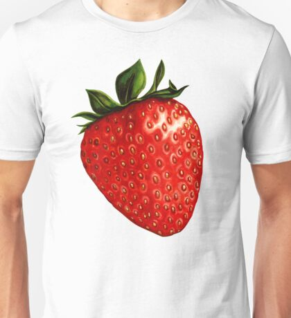 Strawberry Pattern Unisex T-Shirt