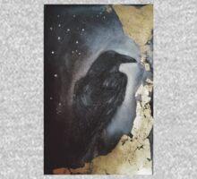 Midnight Raven Art Kids Tee