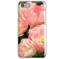 Pink Marshmallow Tulip Bunch iPhone Case/Skin