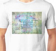 Alice in Wonderland Whimsical Bonkers Quote Unisex T-Shirt