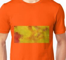 Yellow Abstract Unisex T-Shirt