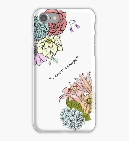 I Can't Change Larry Tattoo iPhone Case/Skin