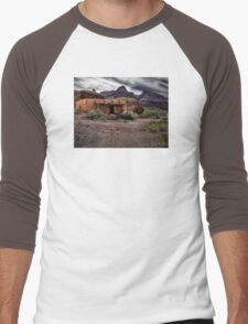 West of the Movies - Texas Men's Baseball ¾ T-Shirt