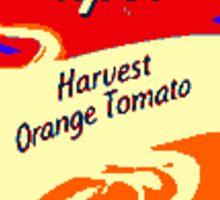Campbell's Orange Tomato Soup Art Sticker