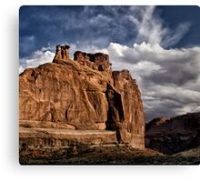 The Three Sisters - Arches National Park, Utah Canvas Print