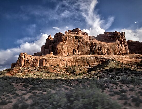 Light On the Rocks - Arches National Park, Utah by Kathy Weaver